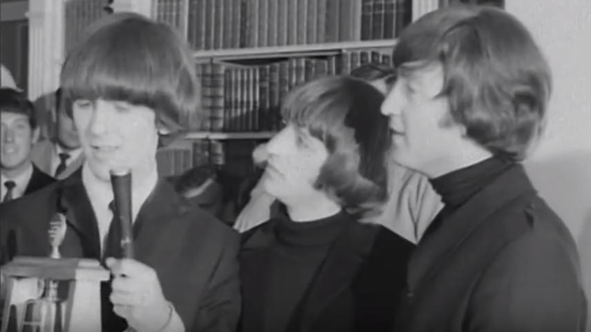 Beatles Win Caroline Award