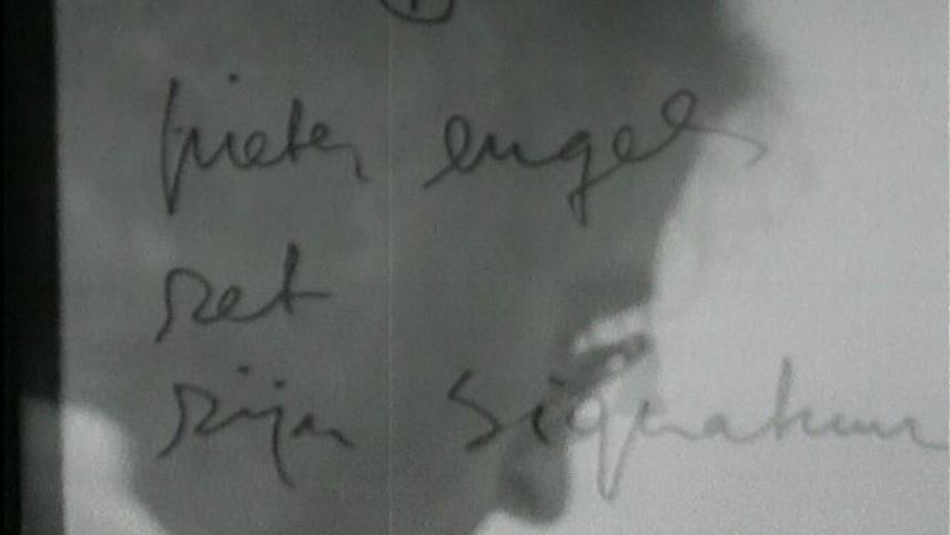Engels Smoking His Signature, Signing the Universe
