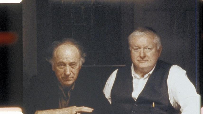 Peter Kubelka and Jonas Mekas