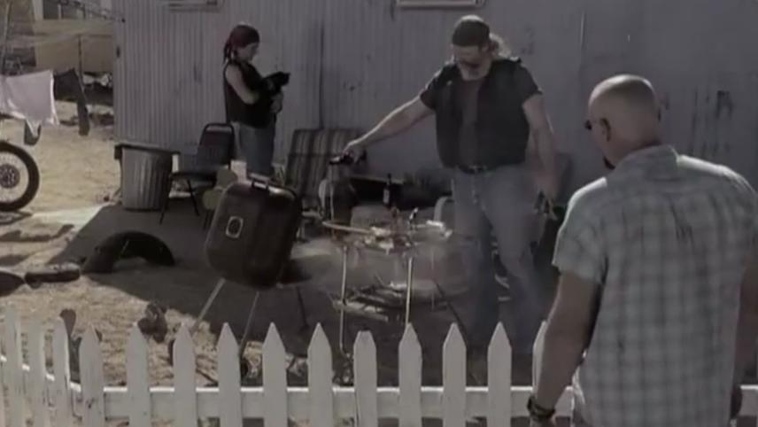 The Creature of the Sunny Side Up Trailer Park (Creature/The Cult of the Evil Geezers)