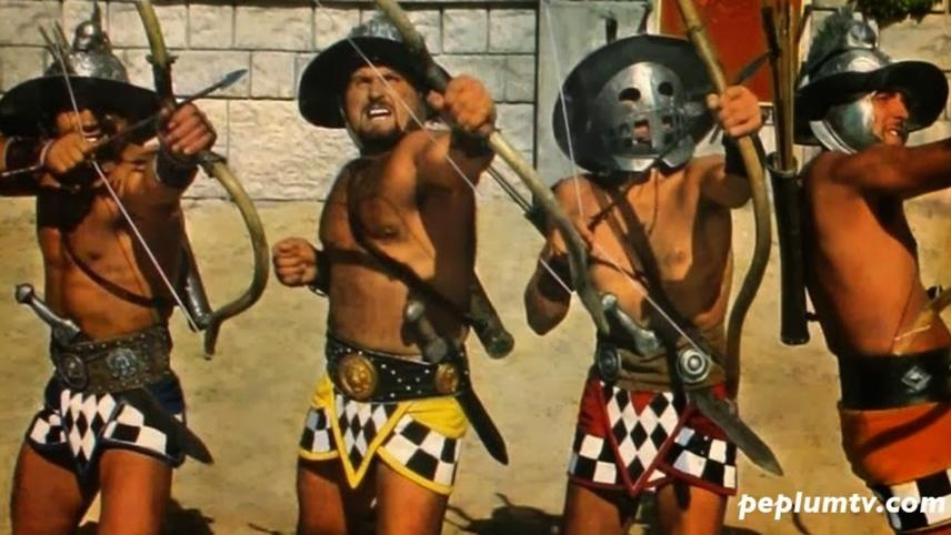 Spartacus and the Ten Gladiators (Day of Vengeance)