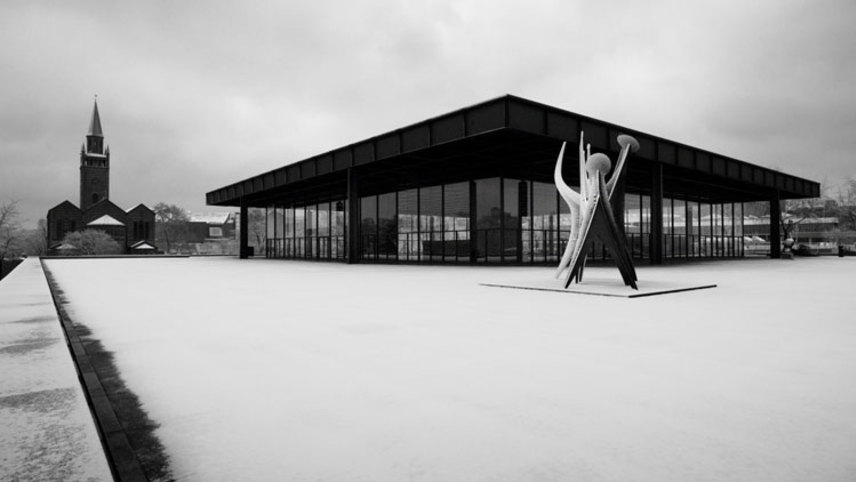 The Neue Nationalgalerie