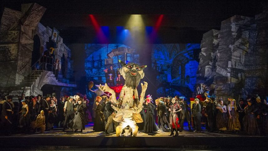 Terry Gilliam's Benvenuto Cellini - English National Opera