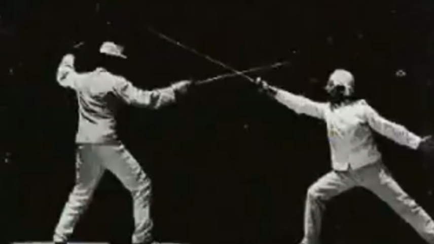 Two Fencers