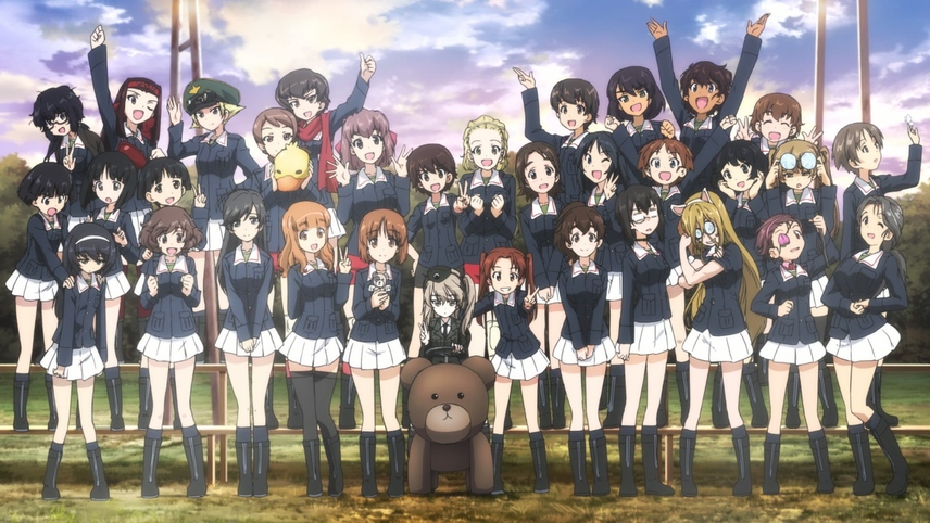 Girls und Panzer der Film Special: Arisu War!