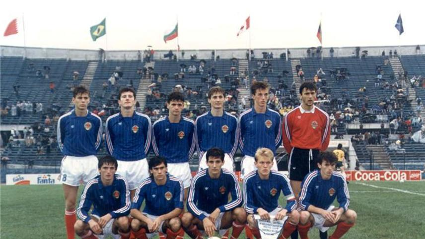 The Last Yugoslavian Footbal Team