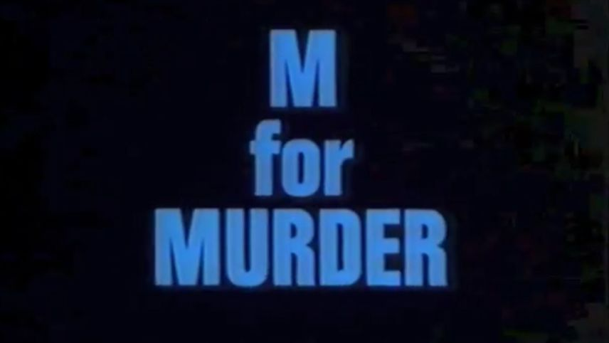 Dial M For Murder: Frame