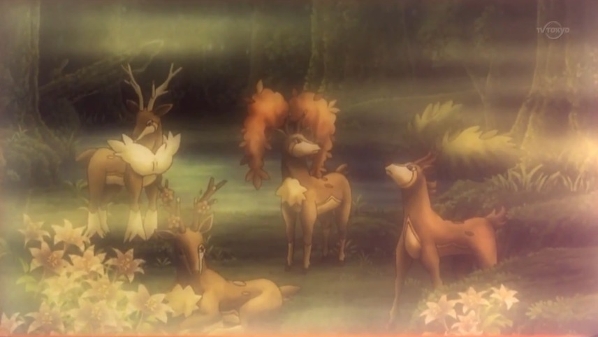 POKÉMON XV: VOL. 1: The Four Seasons of Sawsbuck
