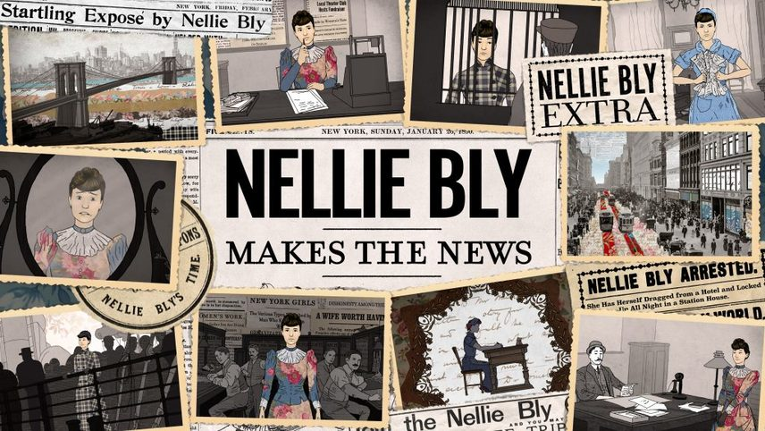 Nellie Bly Makes the News