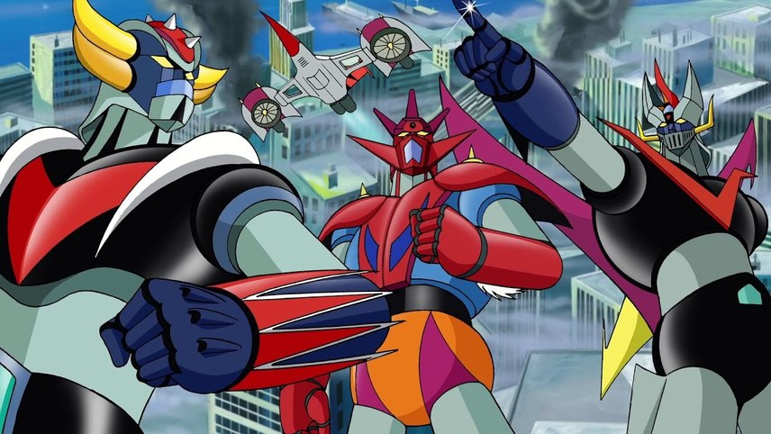 Grandizer, Getter Robot G, Great Mazinger Decisive Battle! The Great Sea Monster
