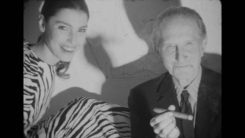 Screen Test [ST81]: Marcel Duchamp and Benedetta Barzini