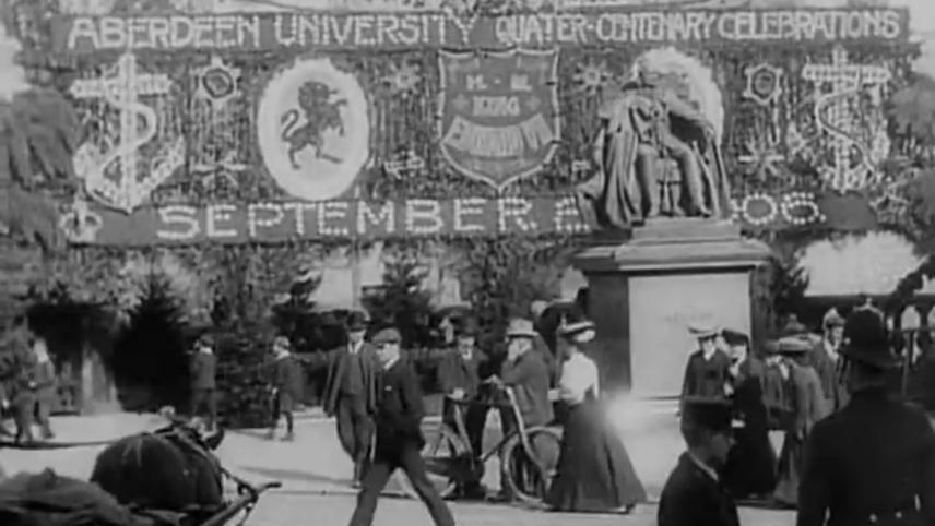Aberdeen University Quarter Centenary Celebrations