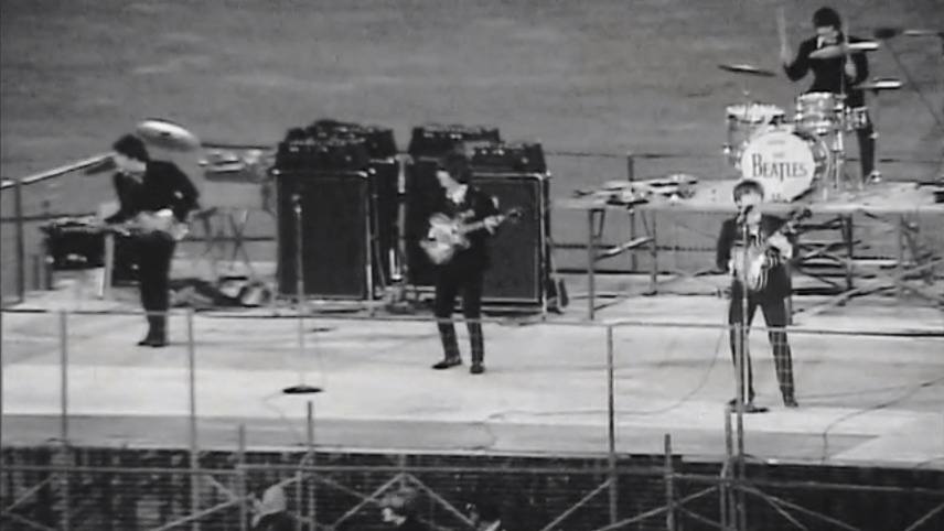 The Beatles Play Candlestick Park