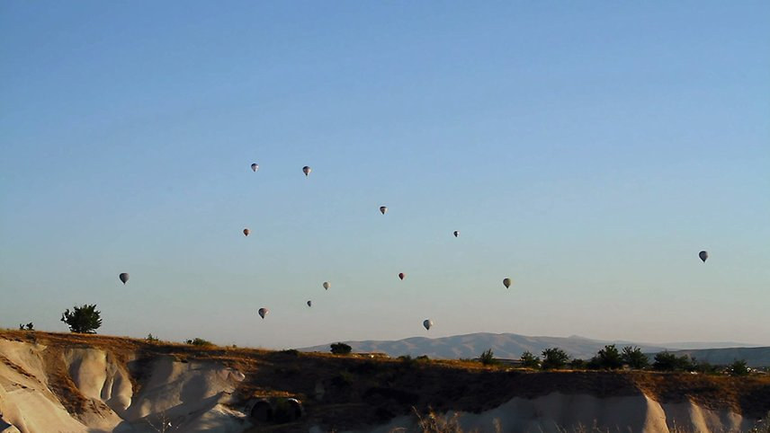 I Went to Cappadocia and I Thought of You