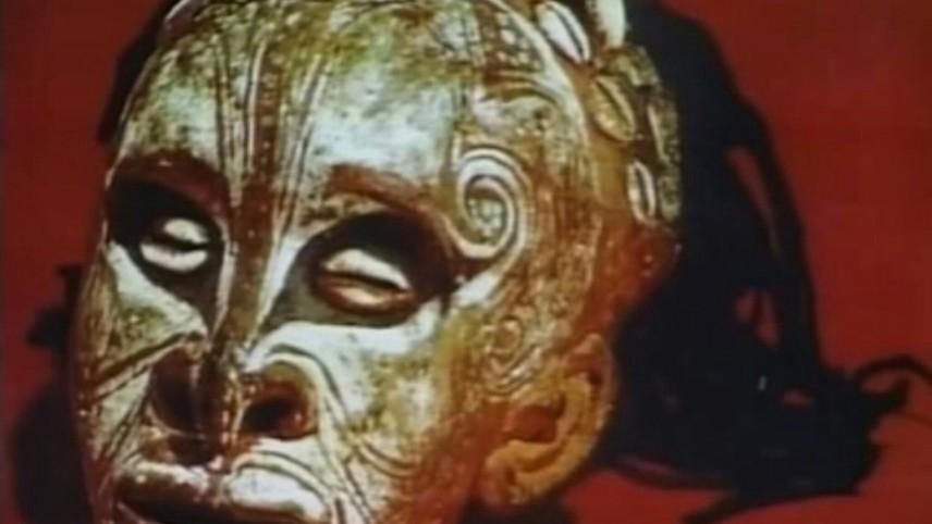 Skull Art in Papua New Guinea