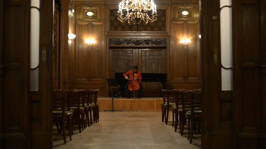 Right Side of Cello