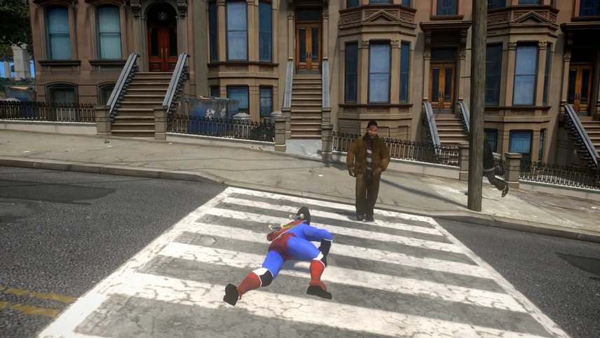 Liberty City Crawl (Superman II)