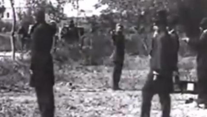 Un duelo a pistola en el Bosque de Chapultepec