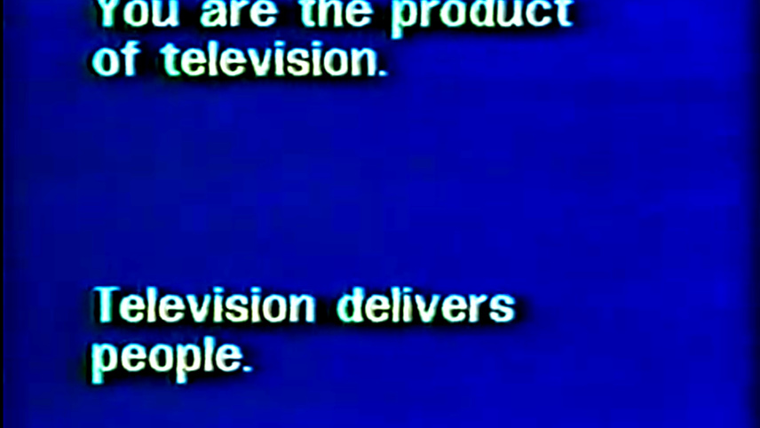 Television Delivers People