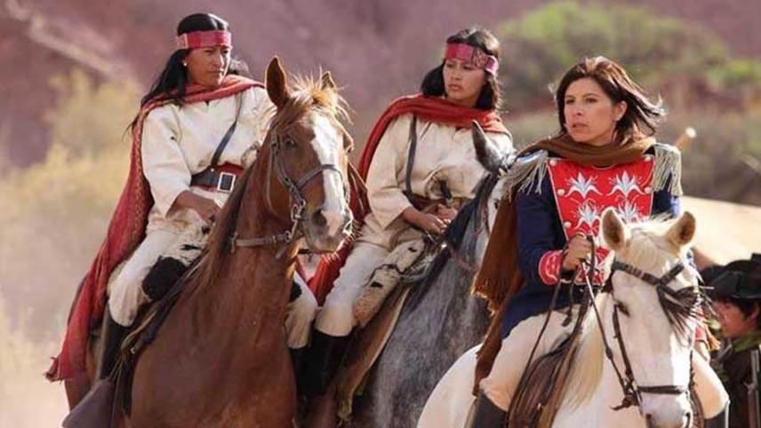 Juana Azurduy, Guerrilla of the Great Homeland