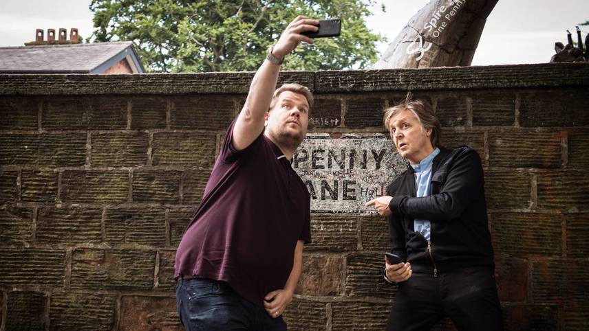Carpool Karaoke: When McCartney Met Corden Live From Liverpool