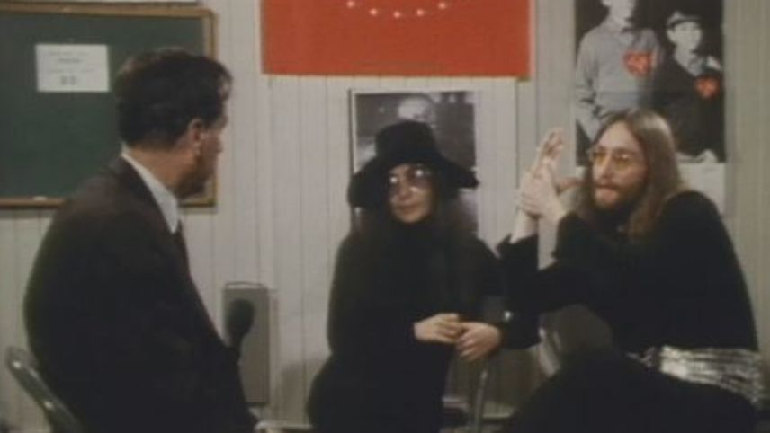 John Lennon & Yoko Ono Interview with Marshall McLuhan
