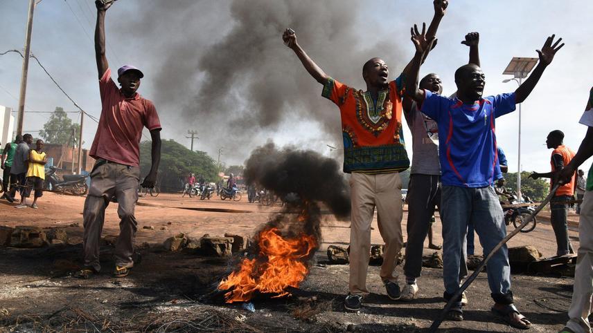 Burkinabe Rising: The art of resistance in Burkina Faso