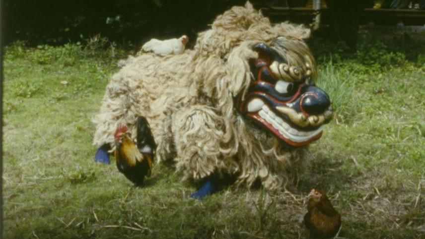 Shisa Dog and Chicken