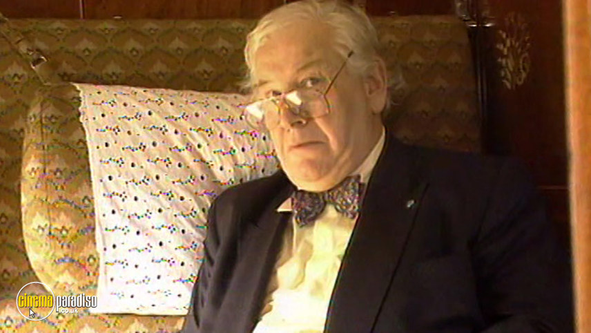 Peter Ustinov on the Orient Express