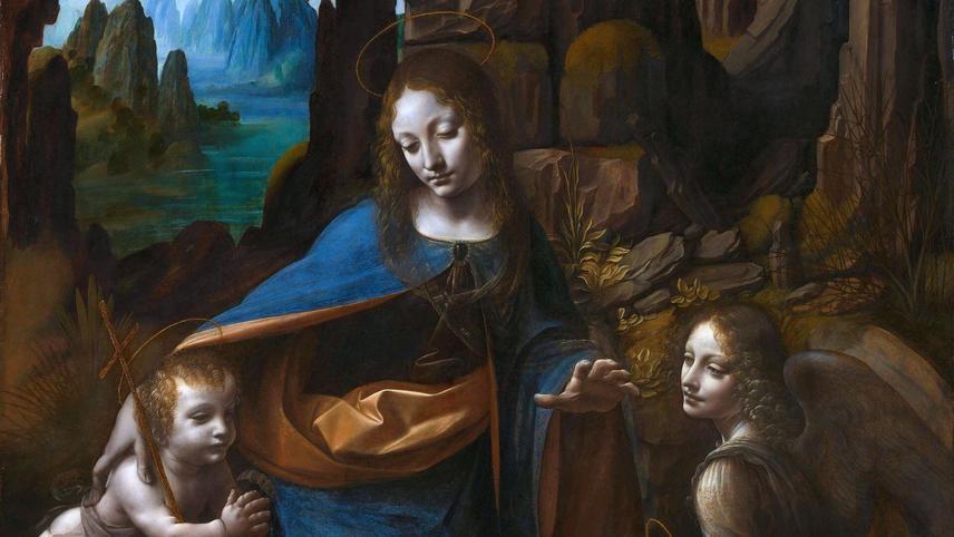 Leonardo from the National Gallery, London