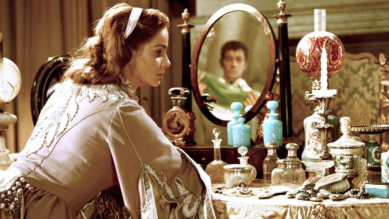 "Luchino Visconti with Alida Valli on the set of ""Senso"" 1954 | Set ..."