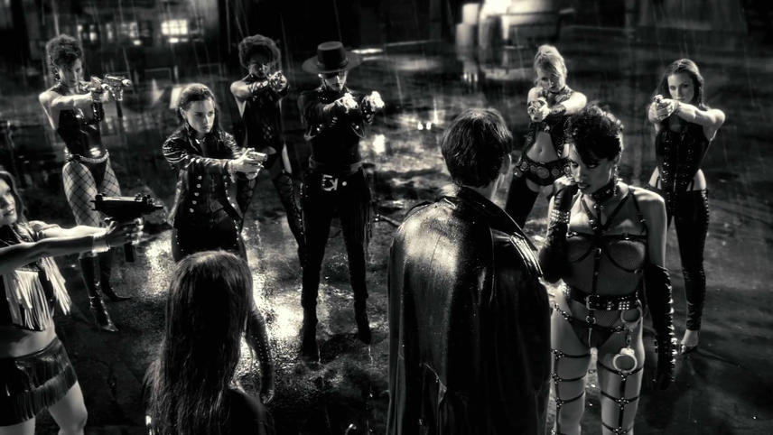 Frank Miller's Sin City, Ciudad del pecado
