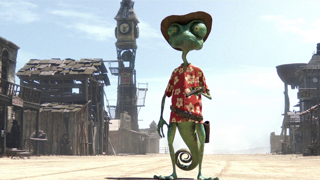 human themes in rango Rango is a 2011 animated western film about a lonely chameleon living as a family pet who faces a major identity crisis he accidentally winds up in the gritty, gun-slinging town of dirt, a lawless outpost located in the mojave desert.