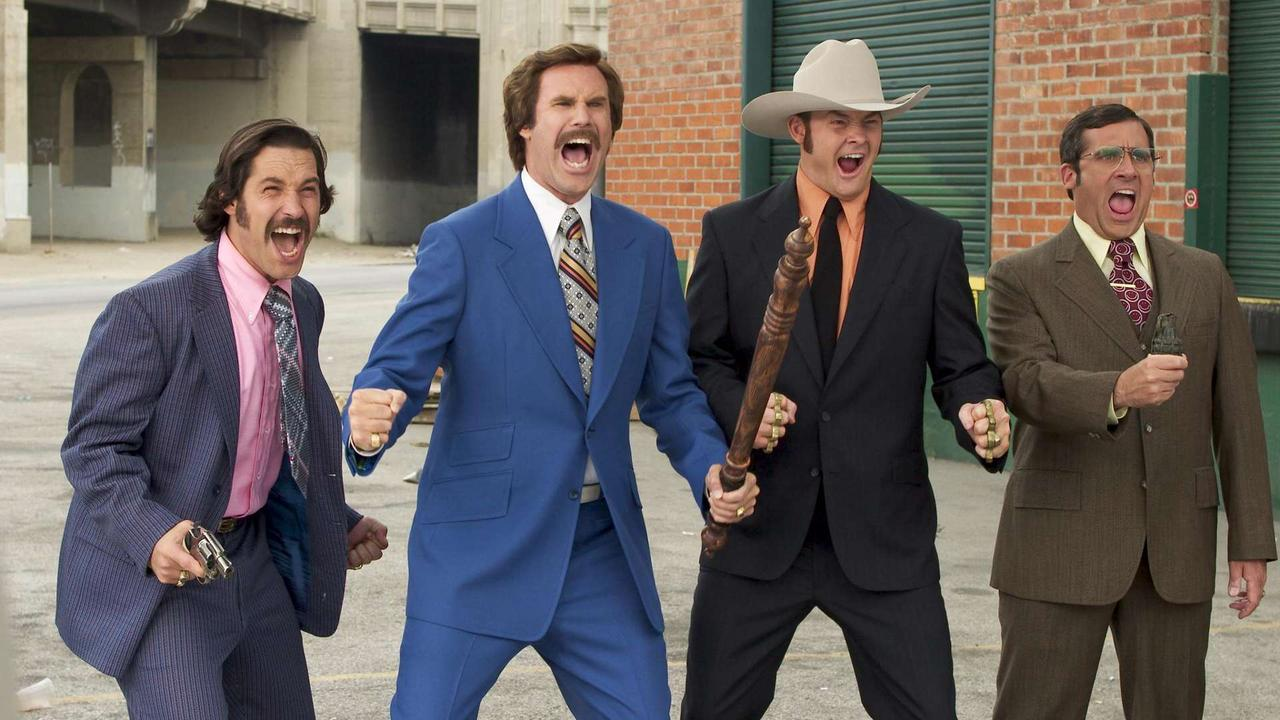 نتيجة بحث الصور عن ‪Anchorman: The Legend Of Ron Burgundy film‬‏