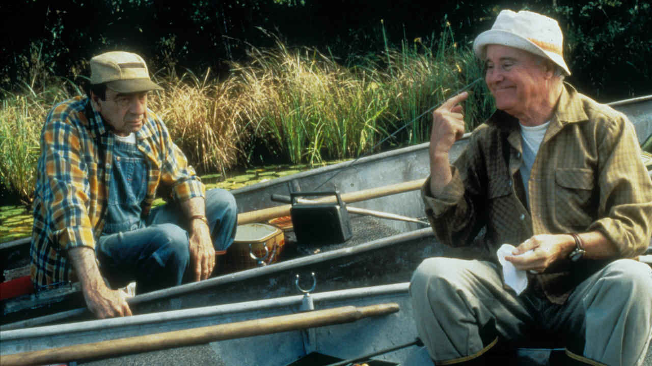grumpier old men essay Grumpier old men (1995) elderly, angling and contentious friends max (walter matthau) and john (jack lemmon) back-burner their bickering when their kids (kevin pollak, daryl hannah) get engaged, but fishing season opens a can of romantic worms as newcomer maria (sophia loren.