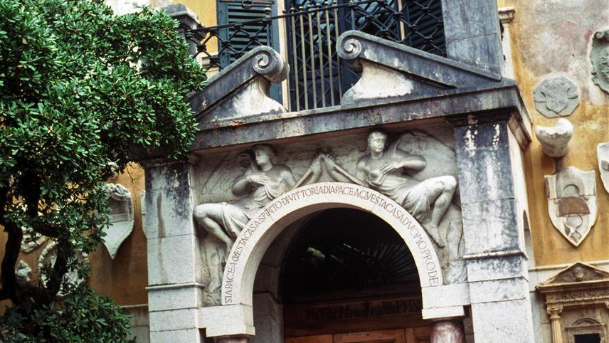 D'Annunzio's Cave