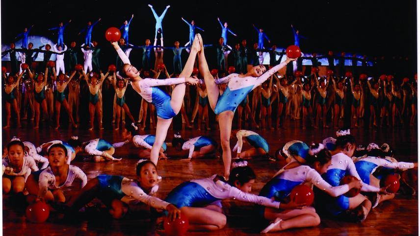 Die jungen Tänzerinnen aus Pjöngjang