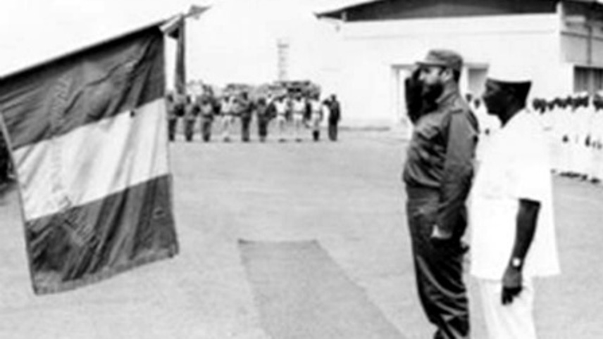 Fidel Castro Traveled To Guinea