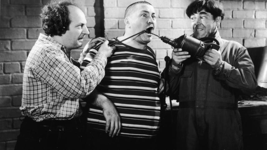 Three Stooges: Stooges at Work