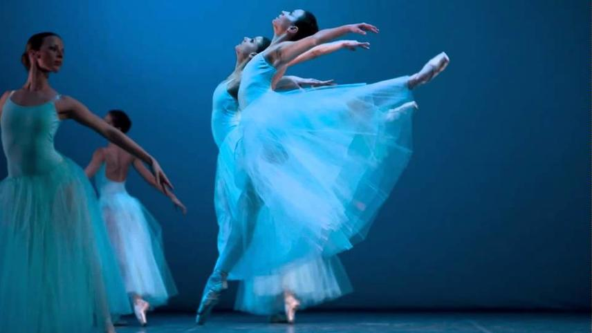 Choreography by Balanchine: Tzigane, Andante from Divertimento No. 15, The Four Temperaments, Selections form Jewels