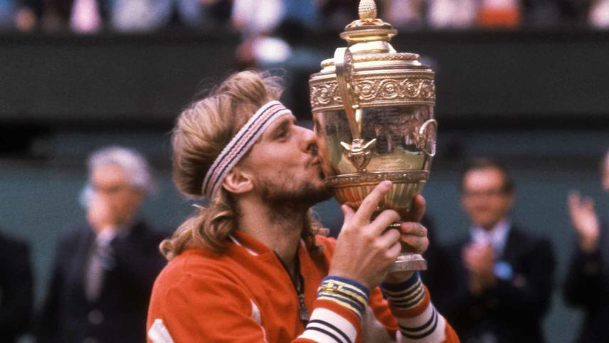 Legends of Wimbledon: Bjorn Borg