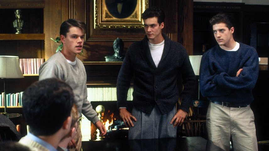 an analysis of prejudice in school ties a movie