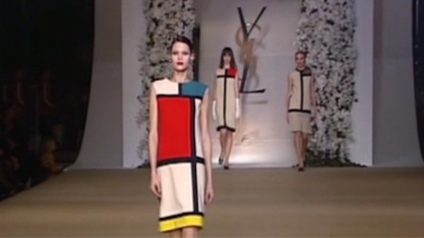 Yves Saint Laurent Featurette 10: 1965 - Homage to Mondrian by Yves Saint Laurent