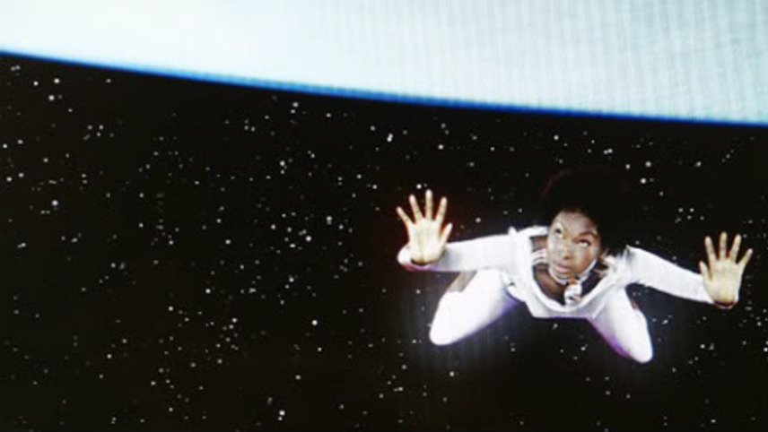 An African Woman in Space