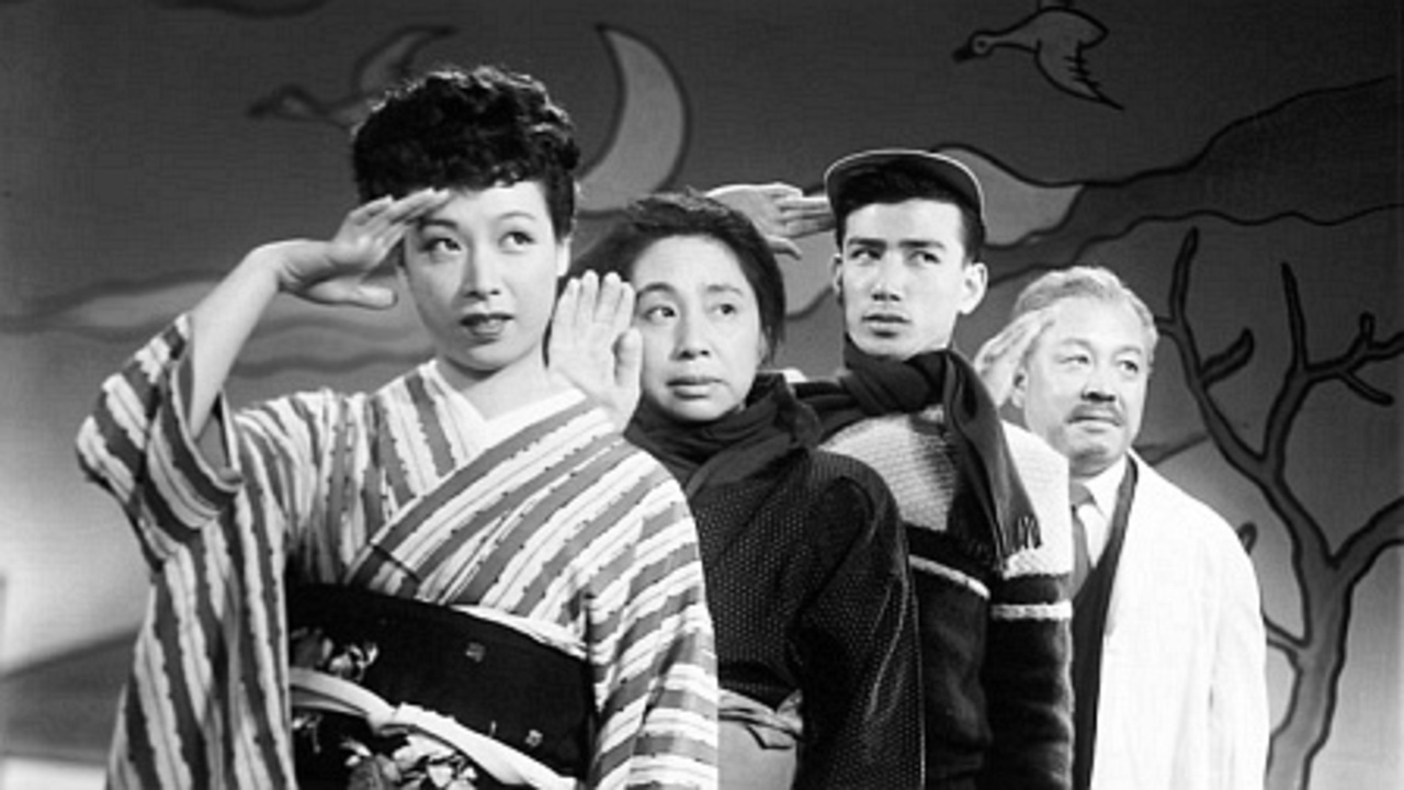 "Image result for Minoru Shibuya. ""Honjitsu kyûshin"", 1952"