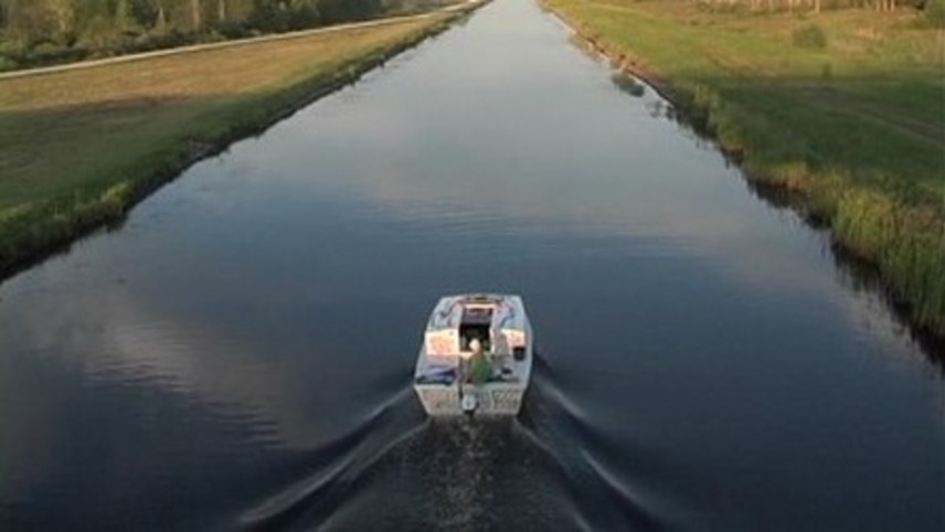 Across Europe in a Paperboat