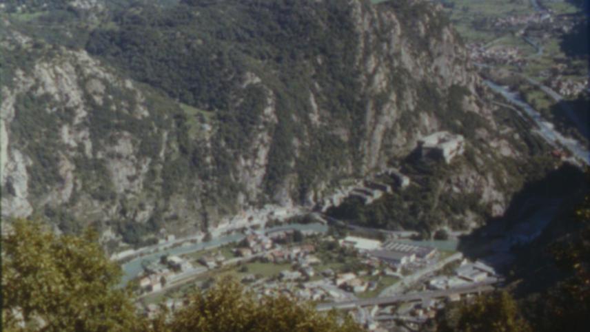 Die Römerstraße im Aostatal