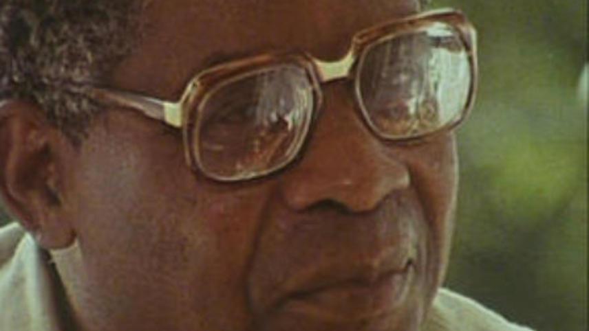 Un homme une terre, Aimé Césaire