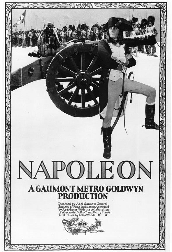 Abel Gance Napoleon poster
