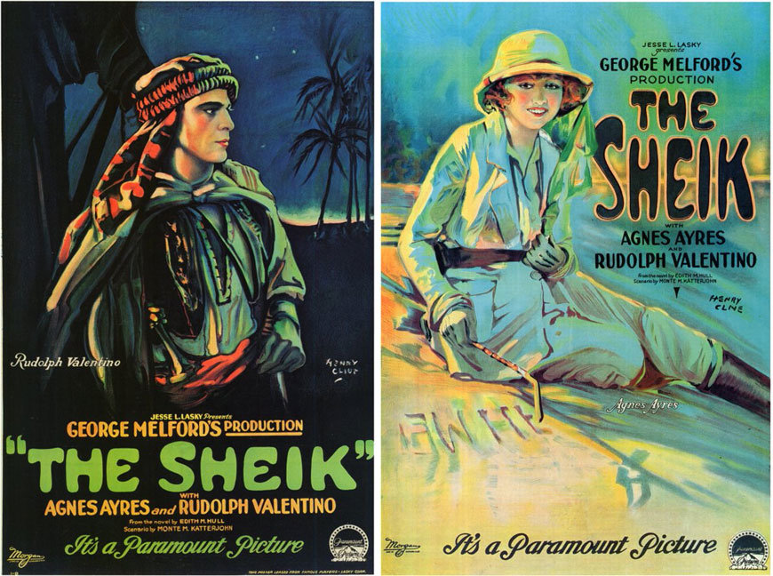 The Sheik posters
